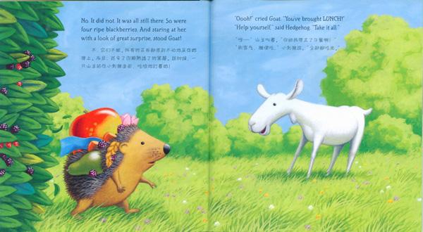 世界经典儿童绘本欣赏【一】:小刺猬的麻烦